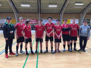 Billede 12_ Årets hold U 16-Drenge